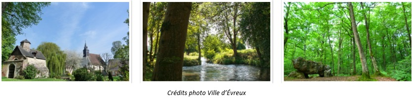 Lovely villages and landscapes near Evreux