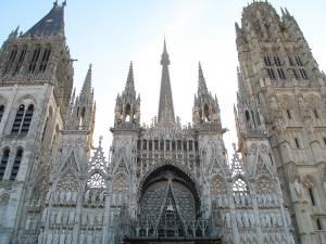 Façade de la Cathédrale Notre Dame de Rouen