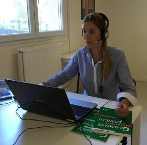 Communiquer, échanger en français avec les cours en ligne